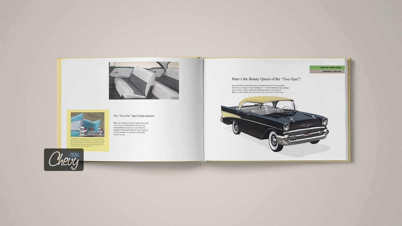 1957 Chevrolet Showroom Album Book 02