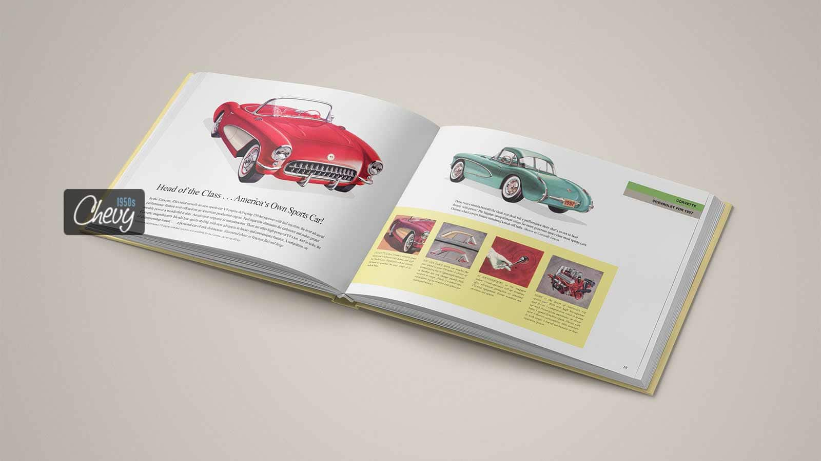 1957 Chevrolet Showroom Album Book 04