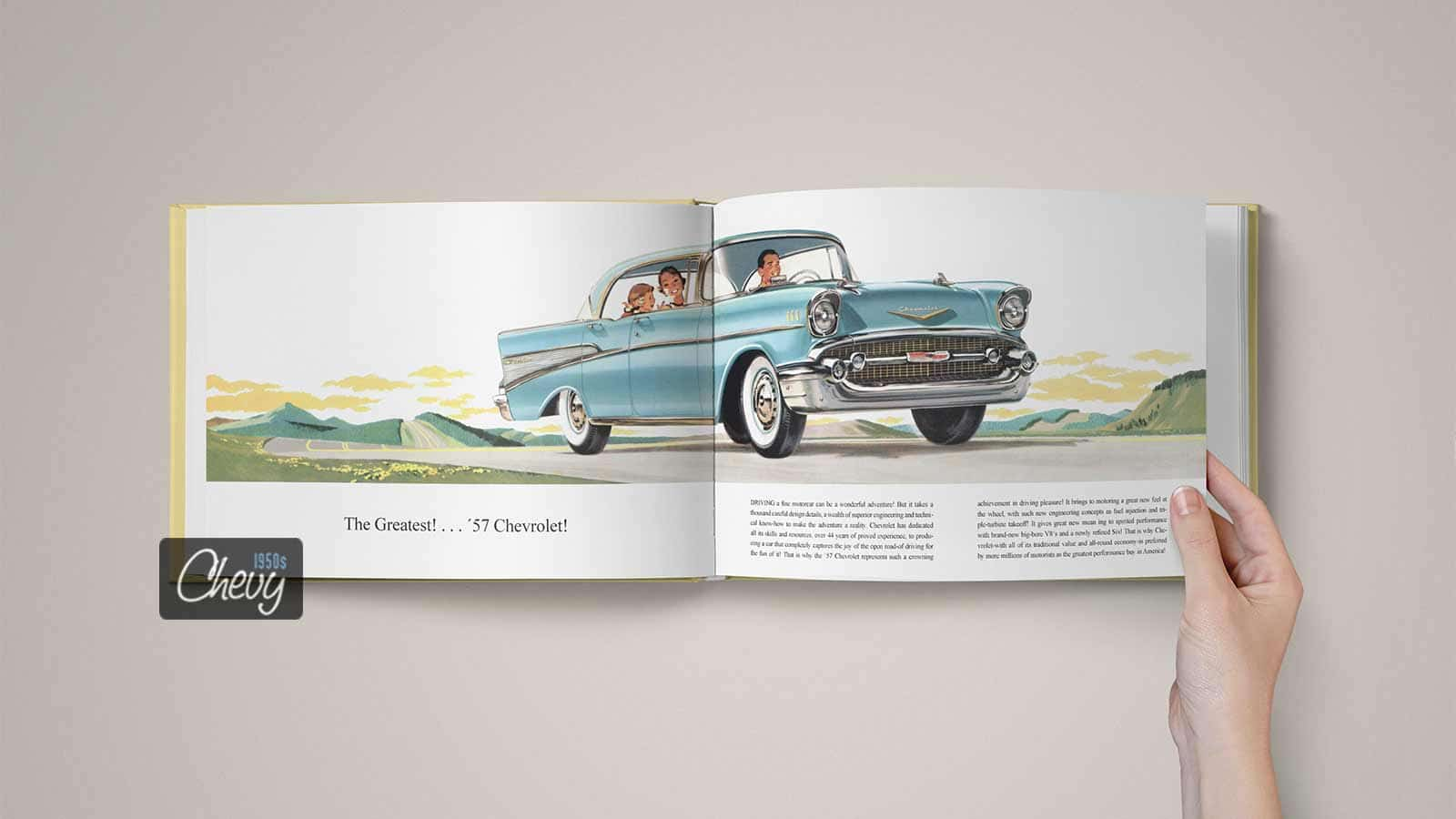 1957 Chevrolet Showroom Album Book 06