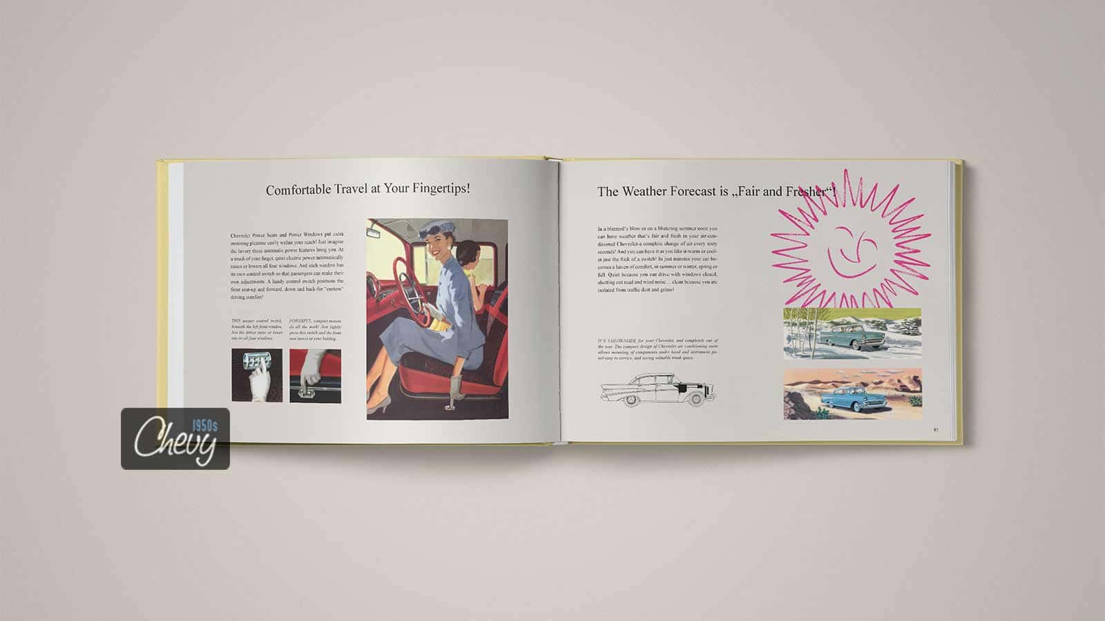 1957 Chevrolet Showroom Album Book 11