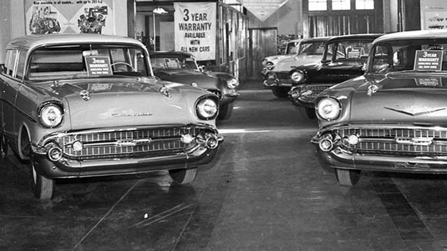 1957 Chevy Showroom