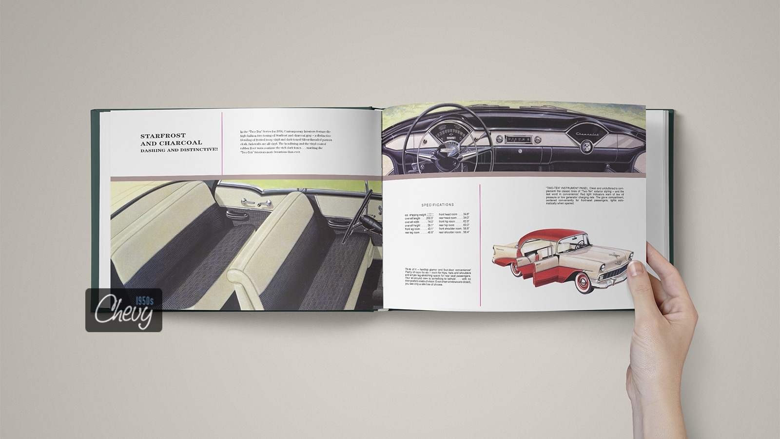 1956 Chevrolet Showroom Album Book 06