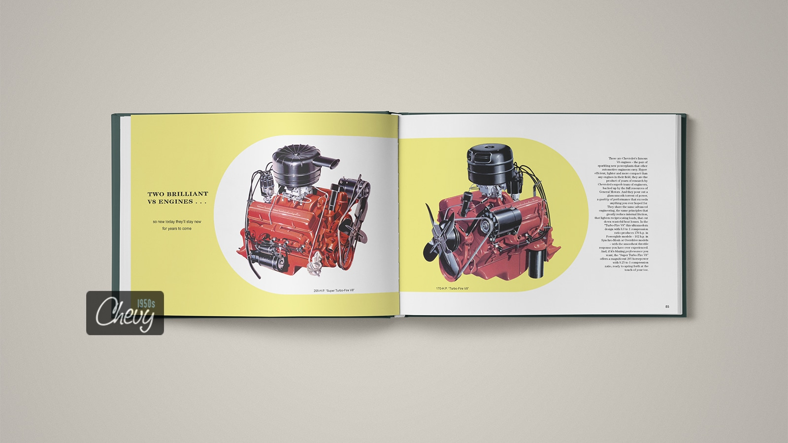 1956 Chevrolet Showroom Album Book 08