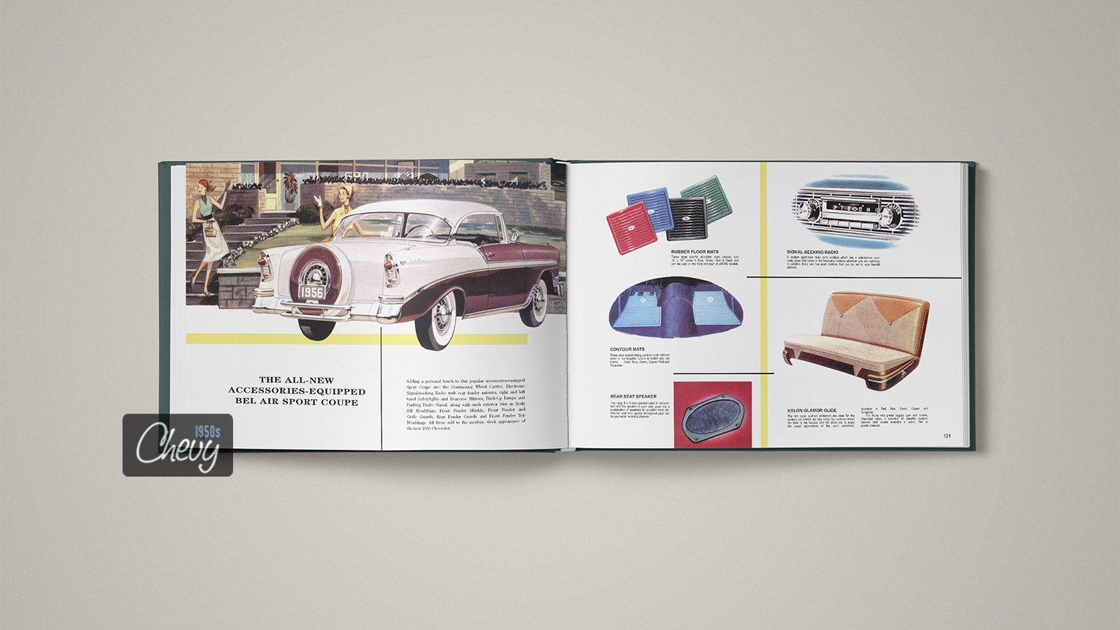 1956 Chevrolet Showroom Album Book 12