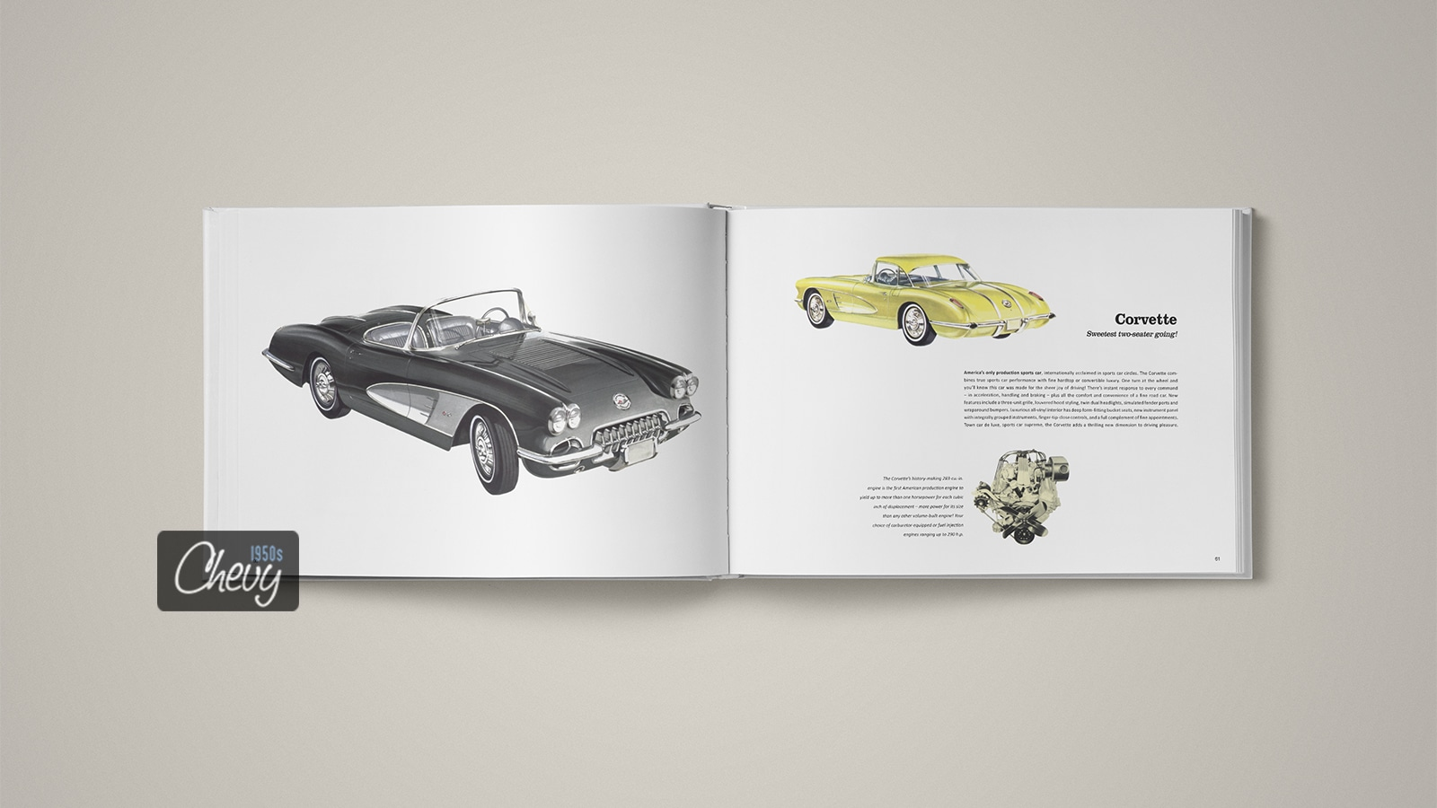 1958 Chevrolet Showroom Album Book 08