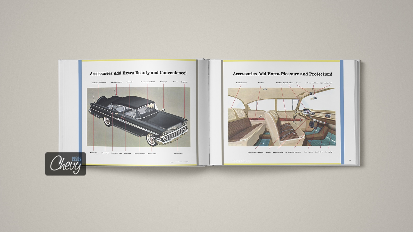 1958 Chevrolet Showroom Album Book 13
