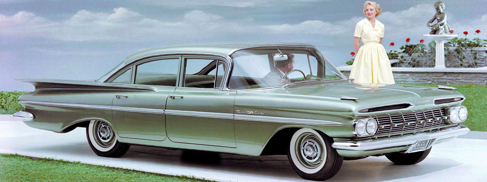 1959 Chevrolet Bel Air 4-Door Sedan
