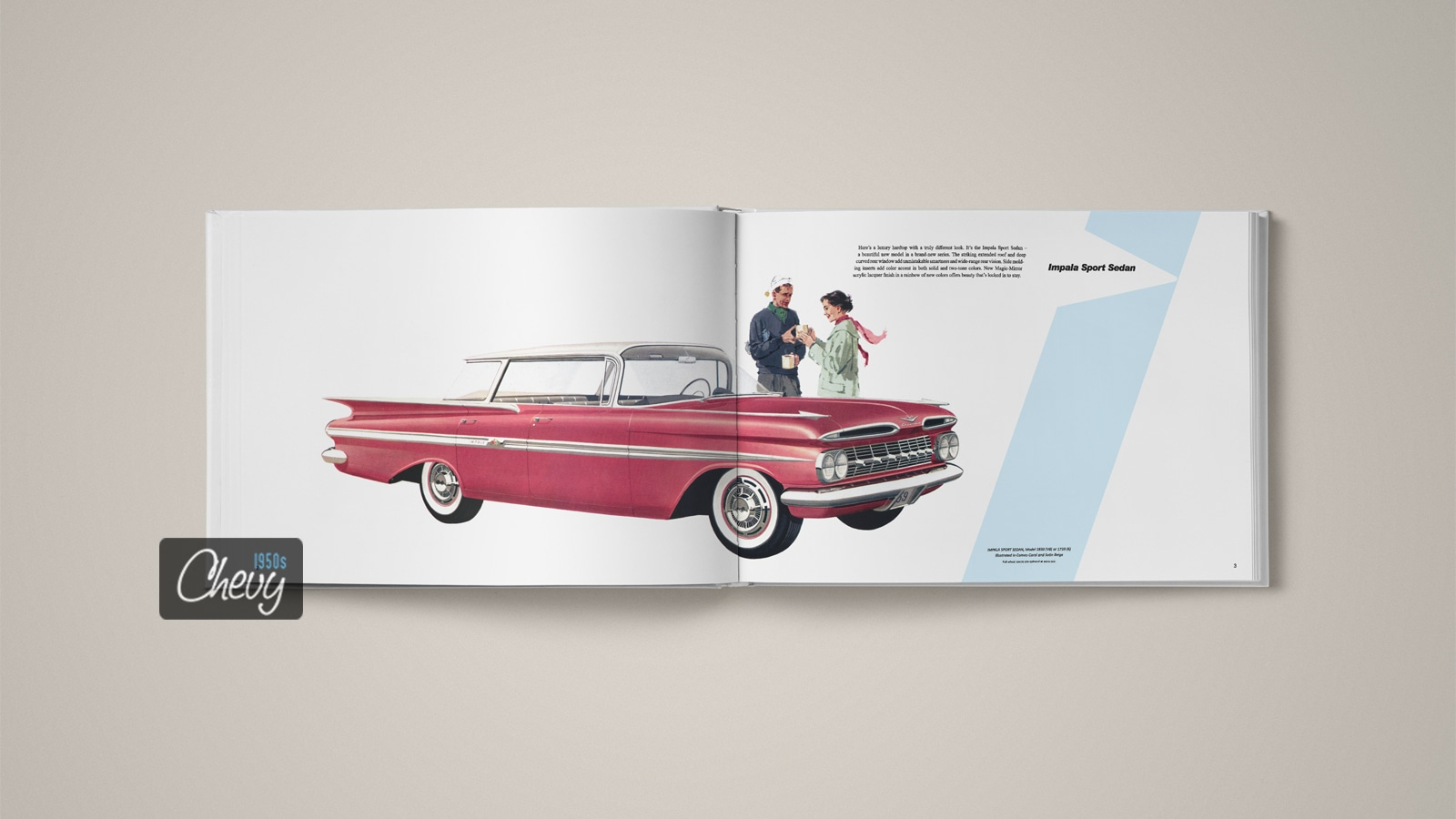 1959 Chevrolet Showroom Album Book 02