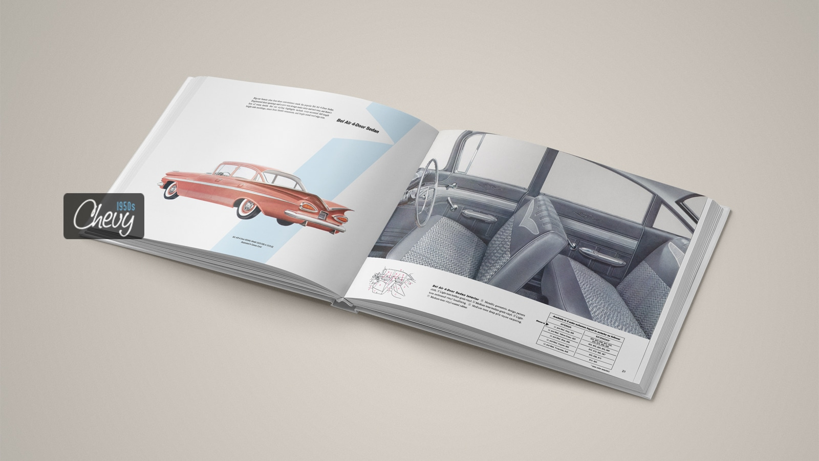 1959 Chevrolet Showroom Album Book 04