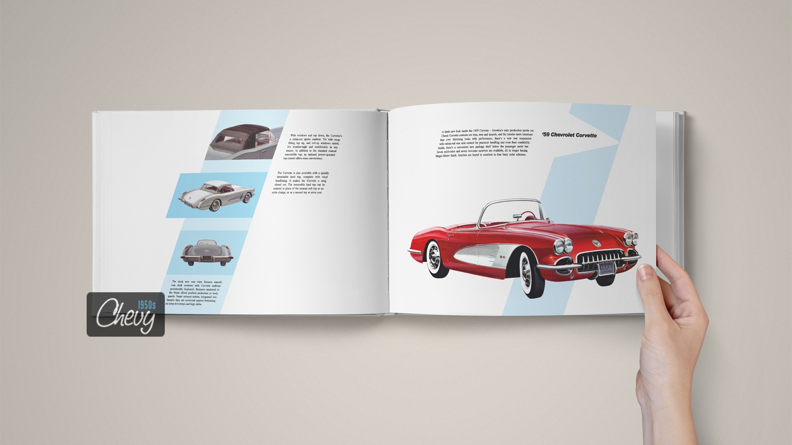 1959 Chevrolet Showroom Album Book 06